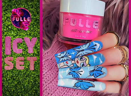 FULLE - ICY NAIL SET