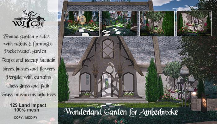 W&Co. Amberbrooke Wonderland Garden