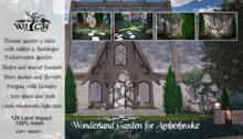 PROMO PRICE 24H !!! W&Co. Amberbrooke Wonderland Garden