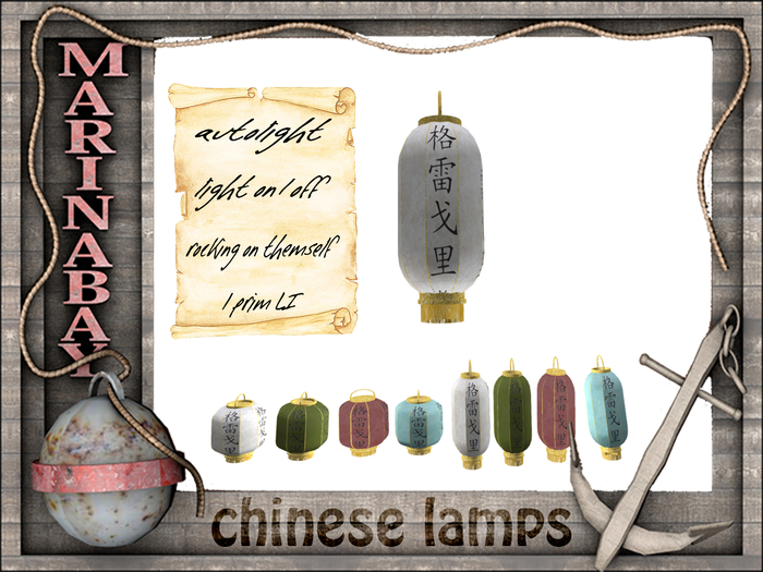 chinese lamps ---