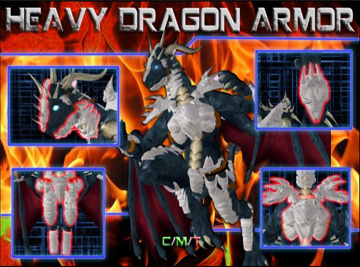 Second Life Marketplace Heavy Dragon Armor V 1 Armor of heroes part 7: second life marketplace