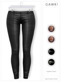 GAWK! Leather Pants - Suede for Maitreya // Maitreya Petite // Legacy // Legacy Perky