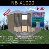 NB Store X1000 with HUD M/C