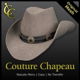 CC Reno Cowboy Hat: Felt {Sage}
