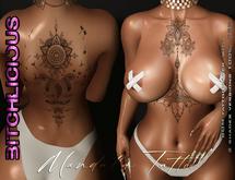 !B! Mandala Tattoo