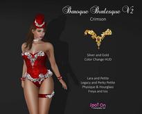 *SO* Baroque Burlesque V2 - CRIMSON