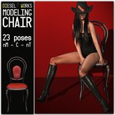 Diesel Works - Modeling Chair with 23 Poses