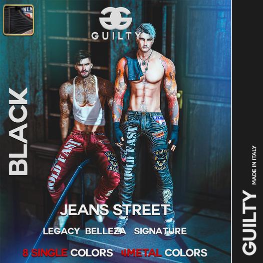 063 Guilty Street Jeans 2 Dark Blue-(Wear Me)