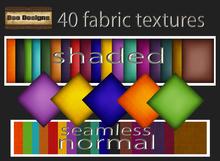40 fabric textures-colors set