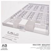 Atelier Burgundy . Rebus Store Modular Kit *ADD*
