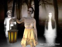 PROMO SALE - Dead Woman Lamp Decor Set (Halloween)