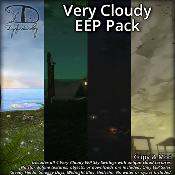 A Very Cloudy Sky EEP Pack - Intensely Cloud Covered Windlight Replacement