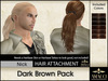 Amacci Hair ~ Nick - Dark Brown Pack