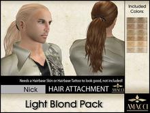 Amacci Hair ~ Nick - Light Blond Pack