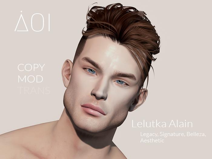 // AOI // Caesar shape for Lelutka Alain [ Legacy / Gianni / Jake / Aesthetic ]