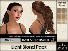 Amacci Hair ~ Nikita - Light Blond Pack