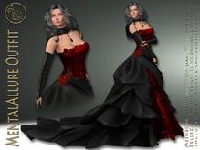 99L PROMO***ArisArisB&W~Alco54~MentalAllure Outfit~Halloween promo(ADD)