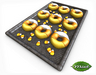 -Mint- Tray of Candy Corn Donuts