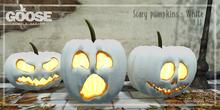 GOOSE - Scary pumpkin white