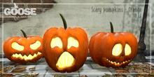 GOOSE - Scary pumpkin orange