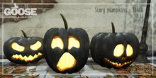 GOOSE - Scary pumpkin black