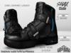 :PM: Cyberpunk Boots Shax - Black