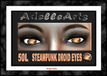 AdelleArts Steampunk Droid eyes