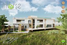 Nizza - furnished modern  house hi-definition - 500+ anims, lights, materials