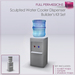 Full Perm SCULPTED WATER COOLER DISPENSER - Builder's Kit Set FULL PERM Office Water Dispenser