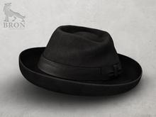 BRON - Declan Fedora Hat - Charcoal