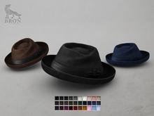 BRON - Declan Fedora Hat - Fatpack