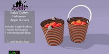 *M* S.C. Halloween Apple Buckets (wear to unpack)