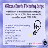 4Kittens Flickering Light Script