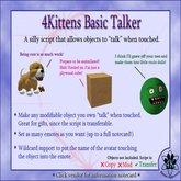 4Kittens SimpleTalker