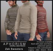 !APHORISM! - Zak Sweater Fatpack