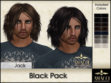 Amacci Hair ~ Jack - Black Pack
