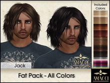 Amacci Hair ~ Jack - Fat Pack All Colors