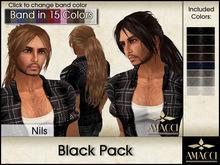 Amacci Hair ~ Nils - Black Pack