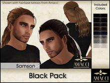 Amacci Hair ~ Samson - Black Pack