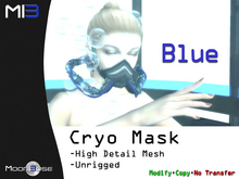 [MB3] Cryo Mask - Blue