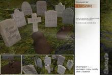 Sway's [6 feet under] Graveyard Set