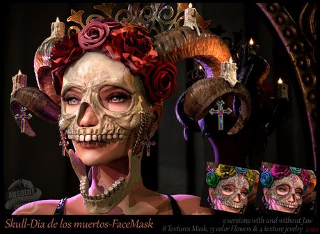 *!* skull dia de los muertos