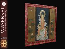 Buddhist painting in frame number 3