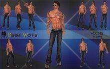 Diesel Works - Adonis Male Poses