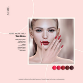 alme. Mesh Square Nails - The Reds (boxed)