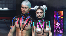 THIS IS WRONG DeWitt shine+tattoo 3D - male pack