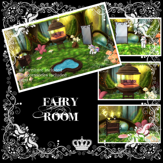 * AR - Cozy's * FAIRY FOREST bedroom SET (DISCOUNTED)