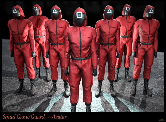 *!* Squid Game Guard - Avatar Bento