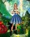 [Wishbox] Folklore Dirndl Dress (Tulip) - Alice-in-Wonderland Dutch Bavarian EGL Costume
