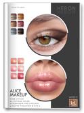 *Heron - ALICE - Makeup - (LeLUTKA) UNPACKER
